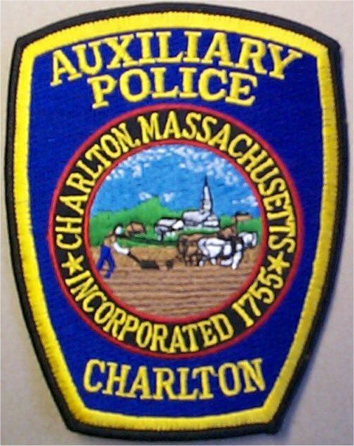 Auxiliary Police Charlton Badge