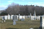 Bay Path Cemetery Tombstones